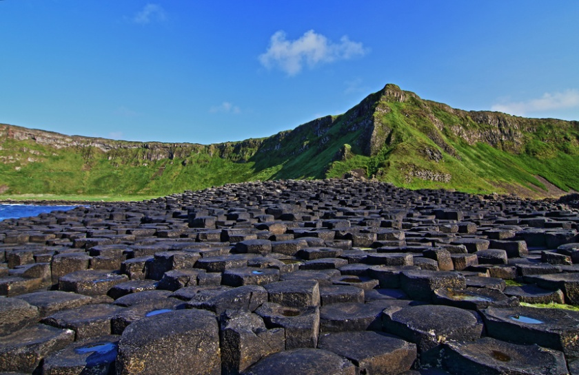 Giants Causeway on Sunny Irish Day