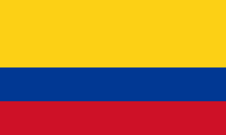 kolumbien fahne colombia flag
